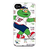 Ideal SHcases Case Cover For Iphone 4/4s(boston Red Sox) Protective Stylish Case