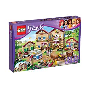Lego Friends - 3185 - Jeu de Construction - Le Camp d'équitation