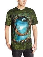 The Mountain Unisexe Adulte Arbre Lune T Shirt