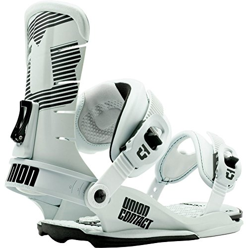 Union Contact Snowboard Bindings Matte Stone Mens Sz L/XL (10.5-14)