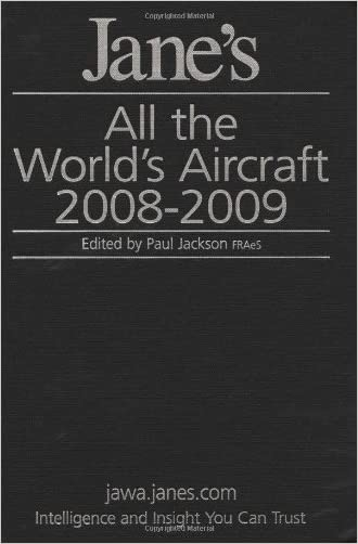 Jane's All the World's Aircraft 2008-2009 written by Paul Jackson
