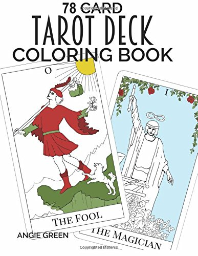 Download 78 Card Tarot Deck Coloring Book Pdf By Angie Green