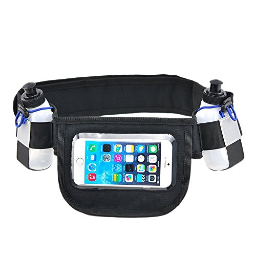 Free runner presents hydration running belt with 2 water for Best out of waste models