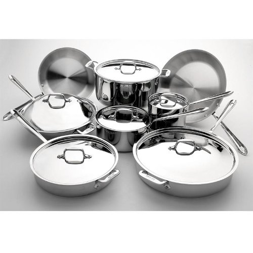 All-Clad Stainless 14-Piece Cookware Set