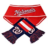 Washington Nationals MLB 2013 Team Wordmark Knit Scarf at Amazon.com