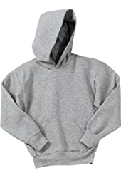 Port & Company Youth Pullover Hooded Fleece PC90YH