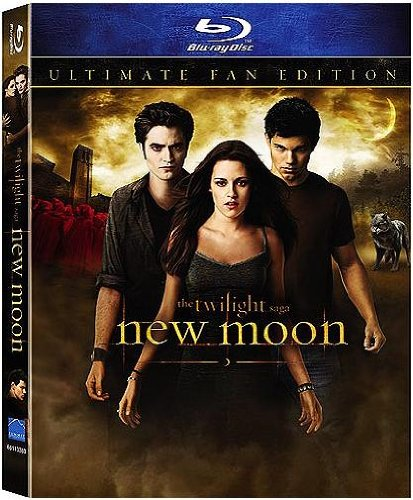 The Twilight Saga: New Moon (Ultimate Fan Edition Blu-ray with Lenticular Packaging & Bonus Footage) [Blu-ray] (Twilight Blue Ray Box Set compare prices)