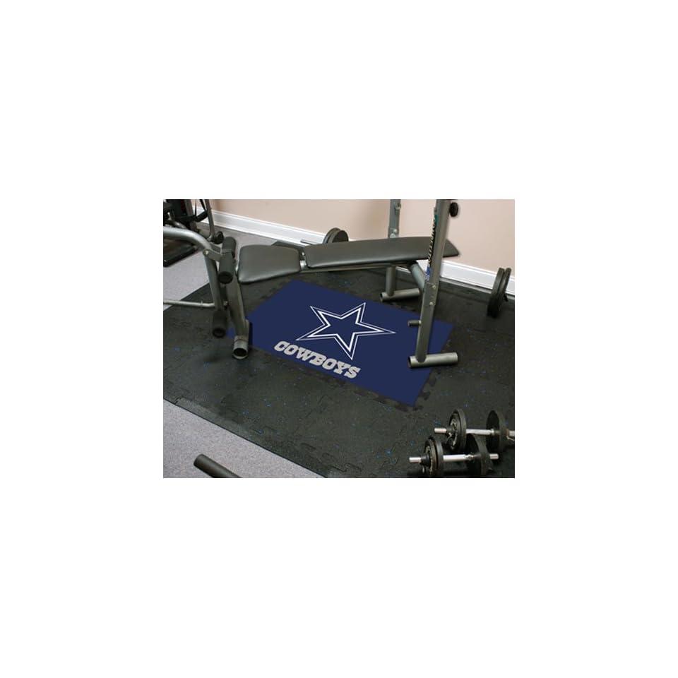 Dallas Cowboys NFL Team Fitness Tiles