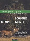 Ecologie comportementale : Cours et sujets corrigés
