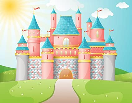 Castle Photography Backdrop Castle Backdrop D-2678