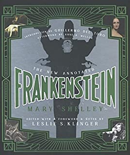 Book Cover: The New Annotated Frankenstein