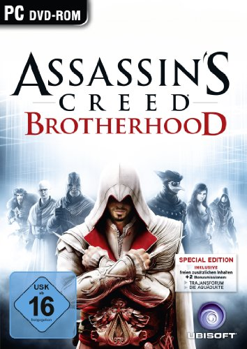 Assassins Creed Brotherhood - D1 Version (uncut)