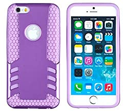 iPhone 6 Plus + Case, DandyCase 2in1 Hybrid ROCKET Full-Body Dual Layer Shock-Protector Slim Case Cover for Apple iPhone 6 Plus (5.5