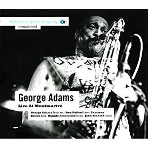 George Adams - Live At Monttmartre  cover
