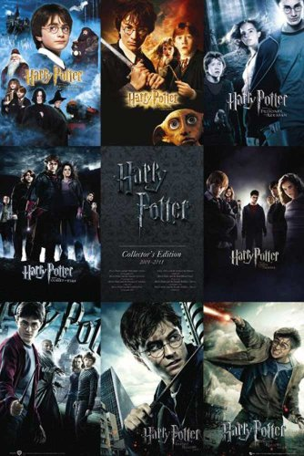 Empire-Poster: Harry Potter multicolore