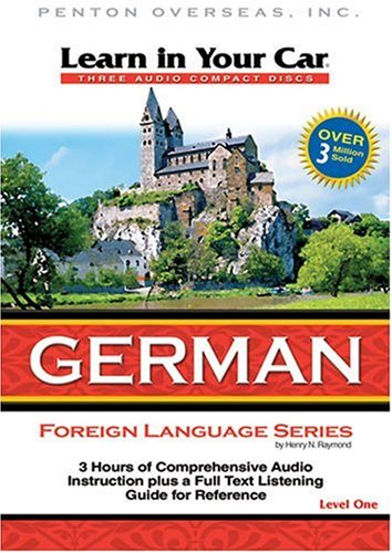 Learn in Your Car German, Level One [With Guidebook] (German Edition)