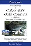 cover of Durham's Place Names and California's Gold Country: Includes Mariposa, Tuolumne, Calaveras, Amador, El Dorado, Placer, Sierra & Nevada Counties