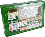 Bünting Tee Geschenkpackung Echter Ostfriesentee, 6er Pack