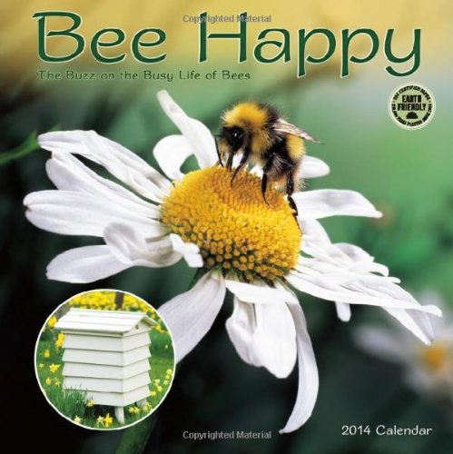Bee Happy 2014 Wall Calendar