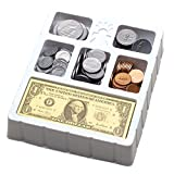 Educational Insights Play Money Coins & Bills Tray