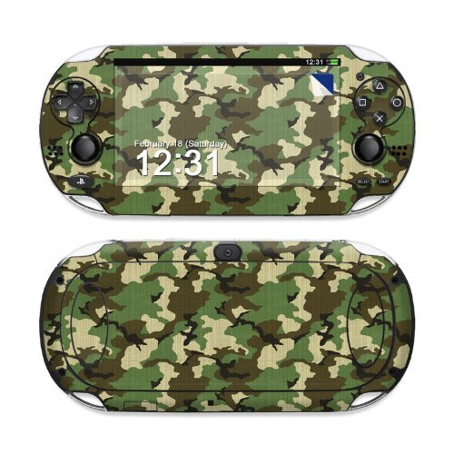 woodland-camo-design-protective-decal-skin-sticker-matte-satin-coating-for-sony-playstation-ps-vita-