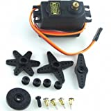 Signstek MG995 Standard Mini Micro Servo Gear For RC Futaba HPI Savage XL Helicopter Plane Boat Car