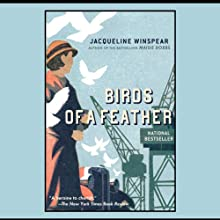 Birds of a Feather: Maisie Dobbs Mysteries (       UNABRIDGED) by Jacqueline Winspear Narrated by Kim Hicks