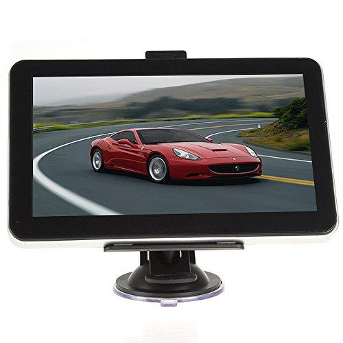 7 Inch Gps Sat Nav Navigation System Navigator Touch Screen Free Usa Maps Preloaded Lifetime Free Maps Update