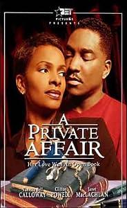 Private Affair [VHS]