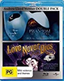 Love Never Dies (2011) (The Australian Production) / Phantom of the Opera (2011) (25th Anniversary Concert) (Andrew Lloyd Webber) Blu-Ray