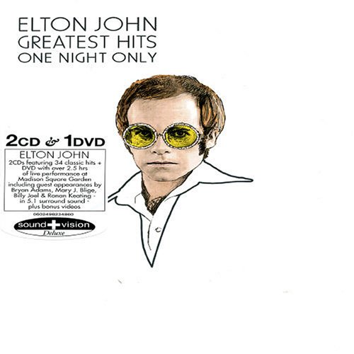 Elton John - Greatest Hits - One Night Only - Zortam Music