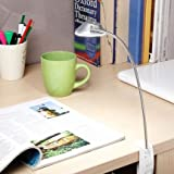 Renata LED Gigalyte Clamp - Cool White Light - Silver