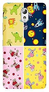 WOW Printed Designer Mobile Case Back Cover For LENOVO VIBE P1m
