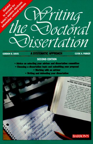 Purchase A Dissertation 6Th Edition