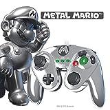 echange, troc Manette fight pad pdp pour wii u - édition limitée Mario métal