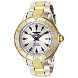 Invicta Signature Collection Pro Diver Two Tone 23k Gold Plated Ocean Ghost Automatic Mens Watch 7036