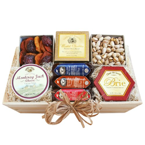 California Delicious Meat and Cheese Gift Crate image
