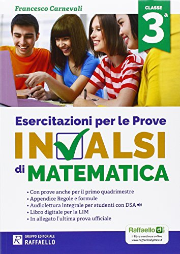Esercitazioni per le prove nazionali INVALSI di matematica Per la 3 classe della Scuola media PDF