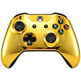Xbox One Wireless Controller for Microsoft Xbox One - Custom Soft Touch Feel - Custom Xbox One Controller (Gold) (Color: Gold)