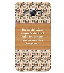 PrintDhaba Quote D-3174 Back Case Cover for SAMSUNG GALAXY A8 (Multi-Coloured)