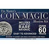 The Masters Coin Magic Illusion Kit 2 Dv Ds With Rare Material And Bonus Card Tricks