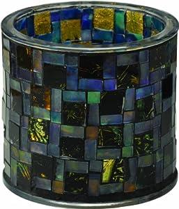 Westinghouse 791002-MS1MR Mosaic Glass Table Top Solar Patio Light, Medium, Design Number-1, 2-Piece Set