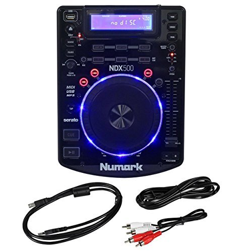 Fantastic Deal! New Numark NDX500 Single DJ Tabletop USB/CD Media Player and Software Controller
