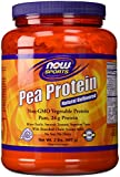 100% Pure Pea Protein (Pack of 2) Now Foods 2 lbs Powder