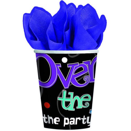 The Party Continues Over The Hill 9 oz Paper Cups - 1