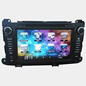 "Navigation System for Toyota Sienna 7"" - virtual 8 disc, GPS, Radio"