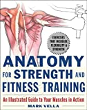 51K4YPQ3PGL. SL160  Anatomy for Strength and Fitness Training: An Illustrated Guide to Your Muscles in Action