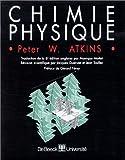 echange, troc Peter William Atkins, Monique Mottet, Jean Toullec, Jacques Guenzet - Chimie physique