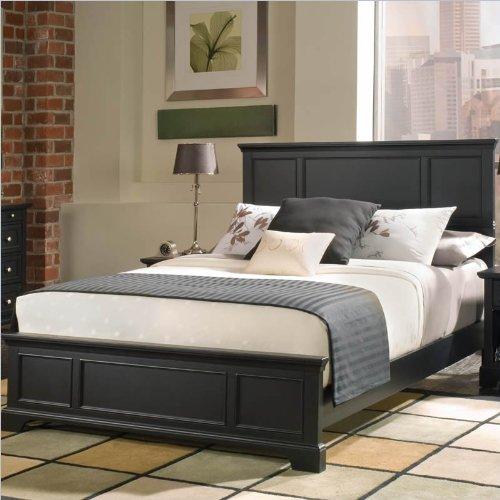 2 Pc Bedford Bedroom Set - Ebony