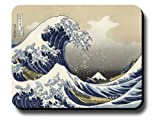 Decorative Mouse Pad Art Print Painting Hokusai The Great Wave
